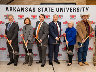 Symbolic Ground Broken on Disaster Services Training Facility