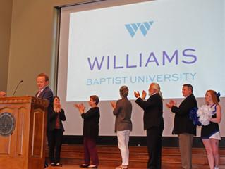 WBC to Become Williams Baptist University