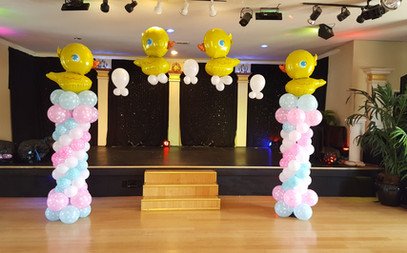 Balloon Arch Gender Reveal
