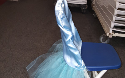 Chair Tutu for Unicorn Party