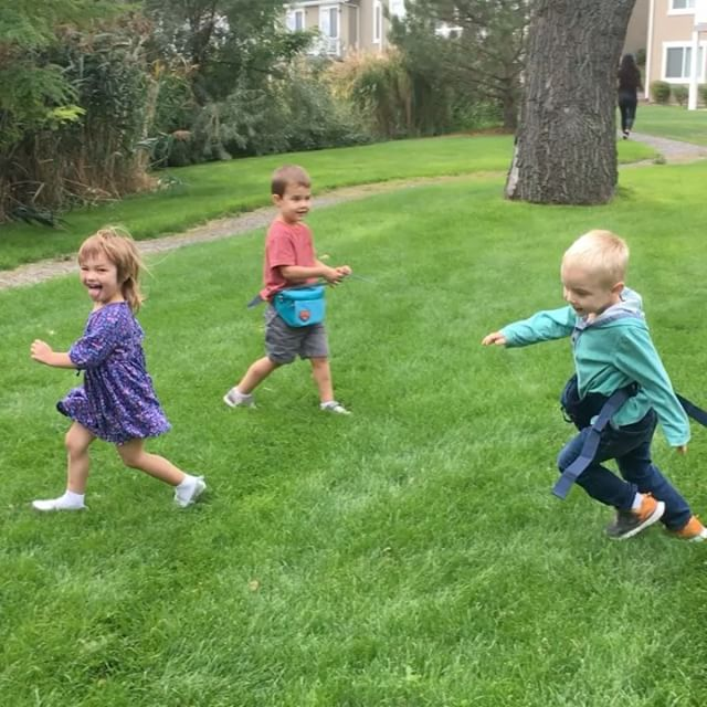 The cutest crazies running around after snack time _gunnelljen _aledamarizyoung _hannah_mouritsen