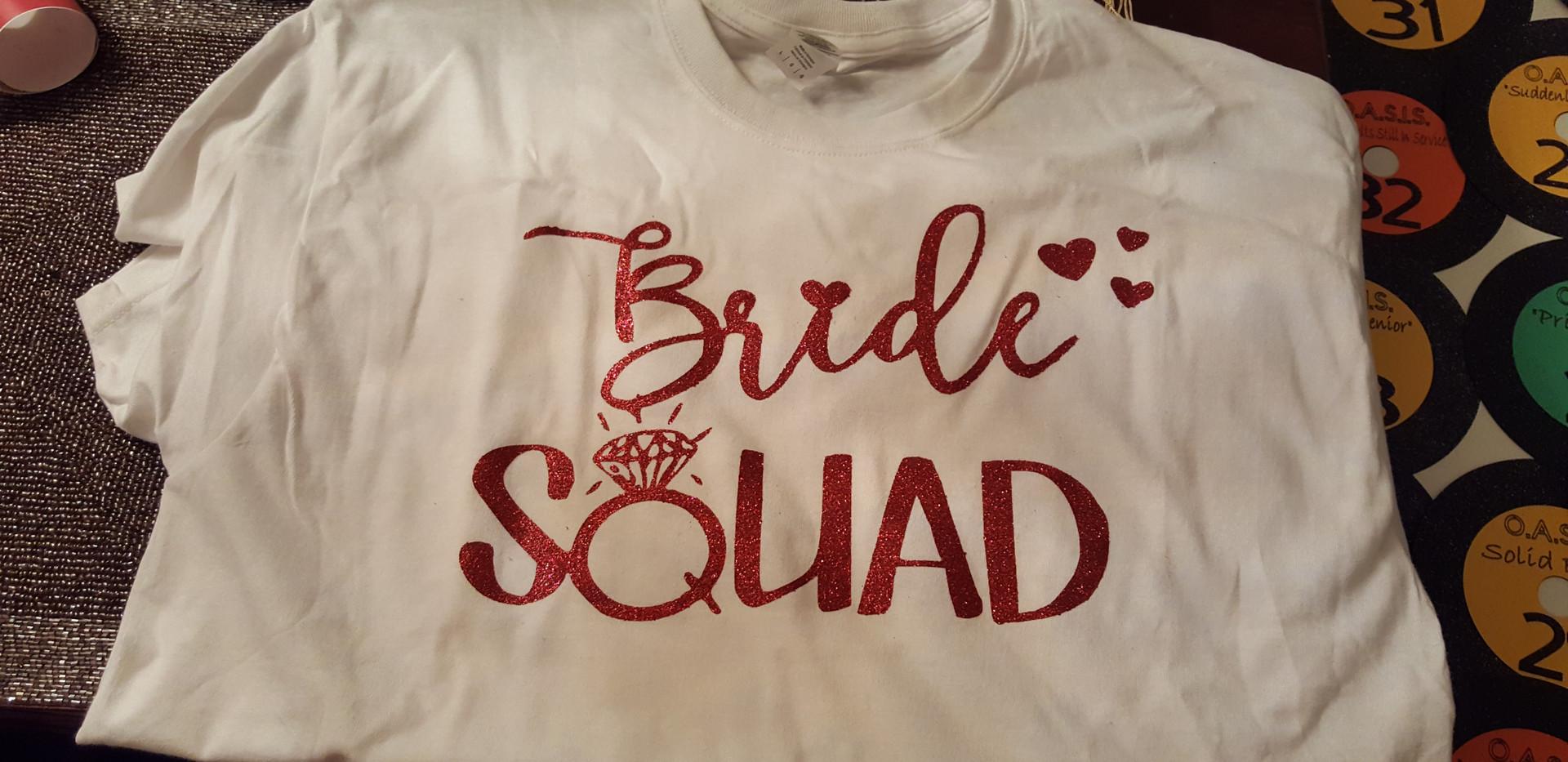 Bridesmaid Gift T-Shirts
