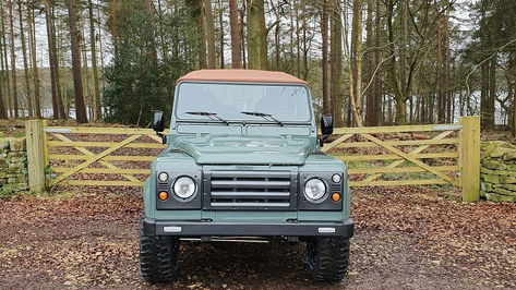 Land Rover Defender 110 Ragtop