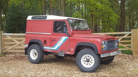 Land Rover Defender 90 Before