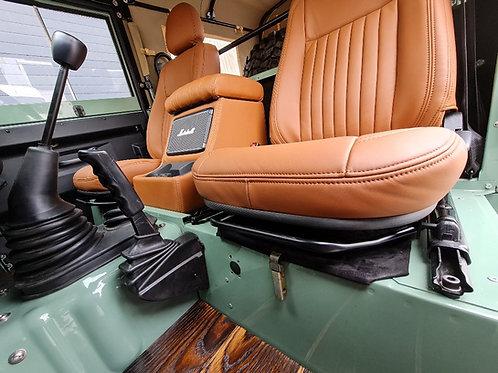 Marshall Kilburn II XL Cubby Box in Tan Leather