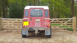 Land Rover Defender 90 Before