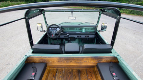 Custom Wood Interior
