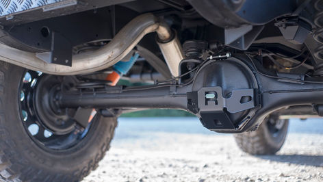 Land Rover Defender 90 Retro Differential Guard