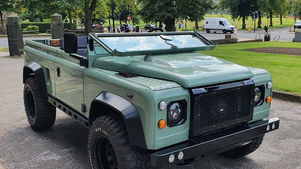 Land Rover Defender 90 Folding Windscreen