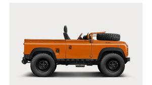 Land Rover Defender 90 Ragtop Illustration