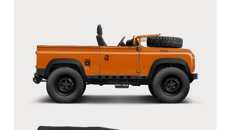 Land Rover Defender Illustration