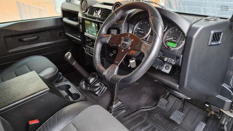 Land Rover Defender 110 Interior