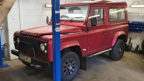 Land Rover Defender Before Build