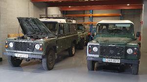 Land Rover Defenders Pre-Build