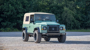 Land Rover Defender 90 Canvas Roof