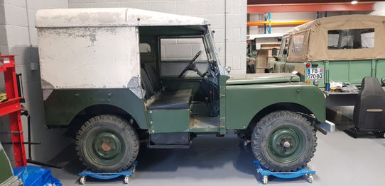 Land Rover Series 1 80""