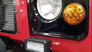 Land Rover Defender 90 Lights