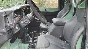 Land Rover Defender 90 Custom Interior