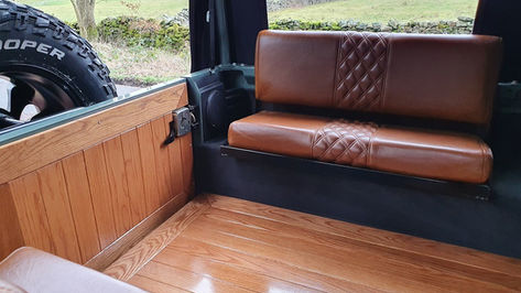 Land Rover Defender 110 Interior