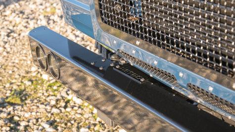 Stainless Steel Defender Bumper