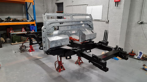 Land Rover Defender Galvanised Bulkhead