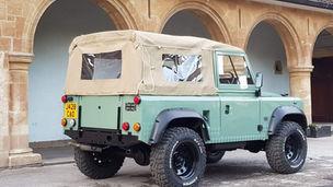 Land Rover Defender 90 Canvas Hood