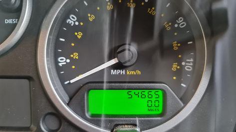 Land Rover Defender 110 Speedo