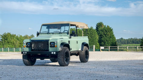 Land Rover Defender 90 Canvas Hood