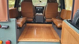 Custom Land Rover Interior