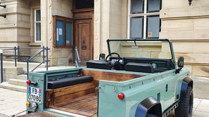 Land Rover Defender 90 Wood