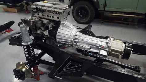 Land Rover Defender TD5, Auto Geabox & Transfer Box