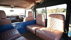 Custom Honeycomb Land Rover Defender Interior