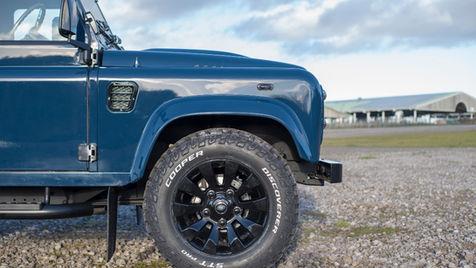 Pantone Blue Land Rover Defender 90