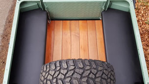 Land Rover Defender 90 Wood Floor
