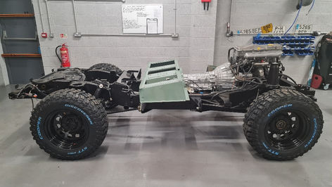 Land Rover Defender 90 Chassis