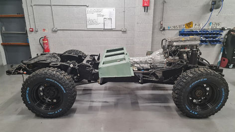 Partially rebuilt Defender 90