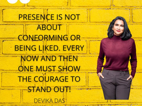 DO SOMETHING YELLOW: Stand out with courage