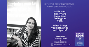 EXECUTIVE PRESENCE & THE POWER WITHIN: Reflective Questions that will Change the way you Lead