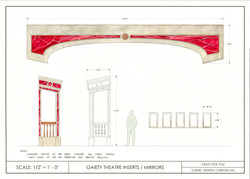 C4Y Paint Elevation - Gaiety Theater Insert and Mirrors