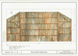 C4Y Paint Elevation - Old Gaiety Wall