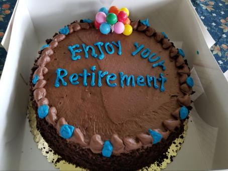 My retirement gift