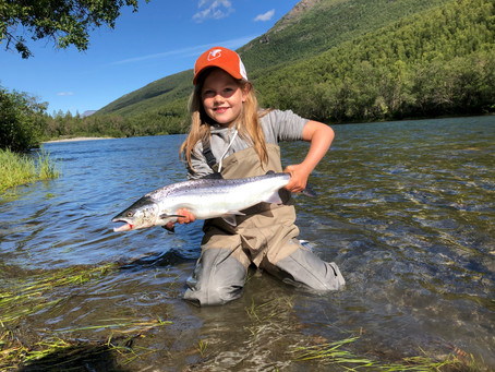Film: Lær ungene laksefiske!