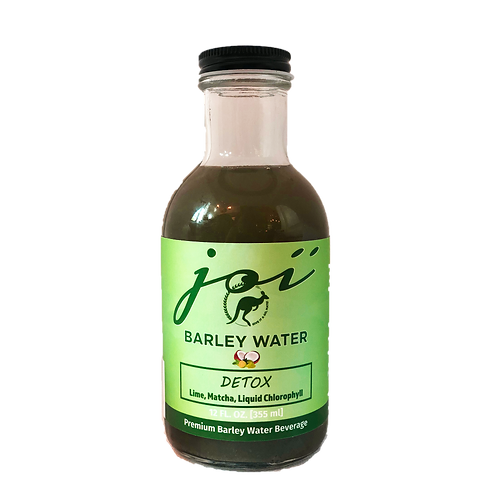 DETOX: Lime with Matcha & Liquid Chlorophyll