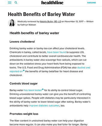 Barley Water Benefits and Side Effects-1