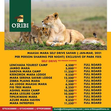 Maasai Mara  Self Drive, Jan-Mar 2021.jp