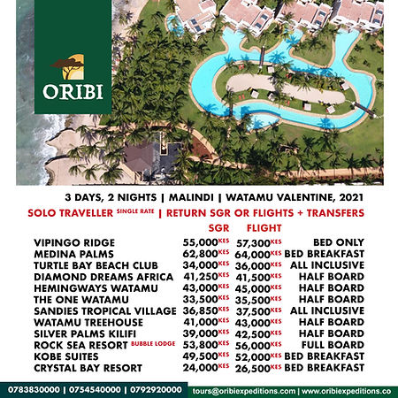 Watamu , Self Drive Jan-Mar ( Solo Trave