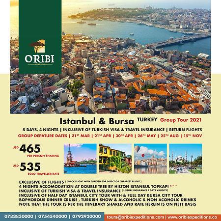 Istanbul & Bursa Turkey , B2B 2021 Group