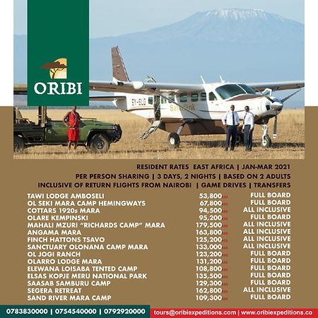 Luxury Safari, Holiday in the Wild , Jan