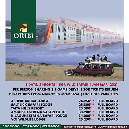 Madaraka Express in the Wild , Jan-Mar,