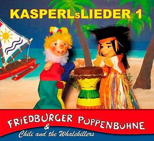 CD-Cover KASPERLsLIEDER 1 Titelseite - K